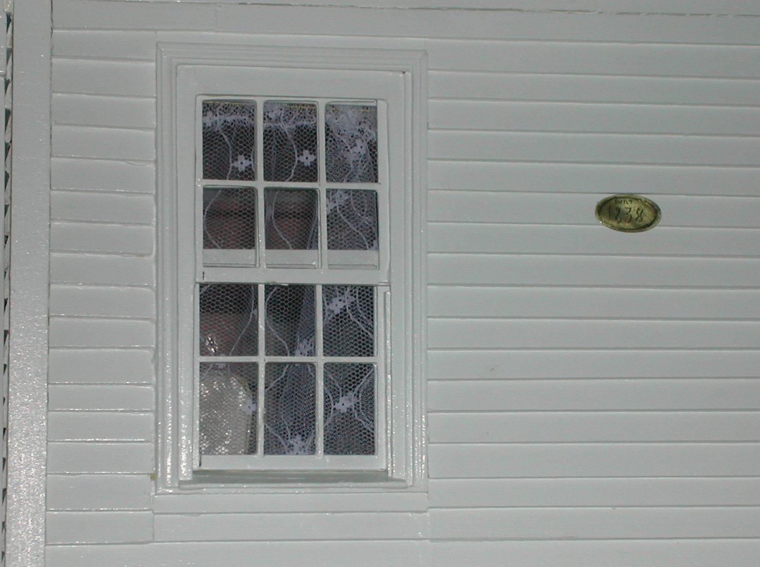 Outside House Windows In the real house, there are
